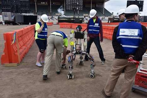 Robot-Focused Competitions - The DARPA Robotics Challenge Has Robots Competing in Different Tasks