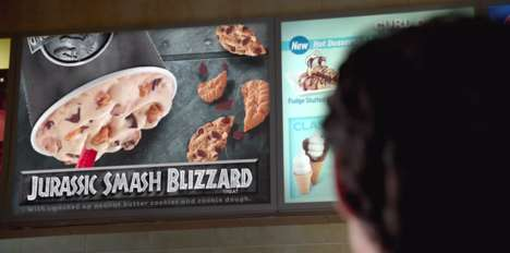Dinosaur-Inspired Desserts - You'll Want to Take a Chomp Out of the Jurassic Dairy Queen Blizzard