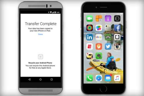 Competitive Android Apps - Apple's Move to iOS App Makes It Easier to Switch to an iOS Device