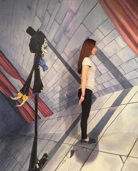 Interactive Art Museums - This 3D Museum in Hong Kong Lets Visitors be Part of the Anime Artwork