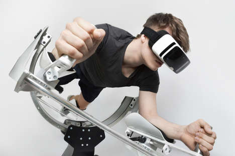 Virtual Reality Home Gyms - Icaros by HYVE Provides a Stimulating and Entertaining Way to Work Out