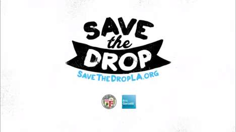 Celebrity Conservation Campaigns - Steve Carell & Save the Drop Raise Awareness of Water Consumption