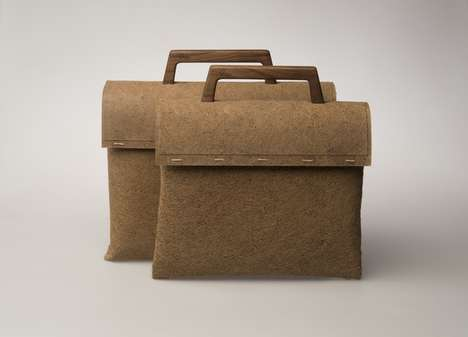 Biodegradable Handbags - The 'Tree Bag' is a Sustainable Bag Made Entirely from Parts of Trees