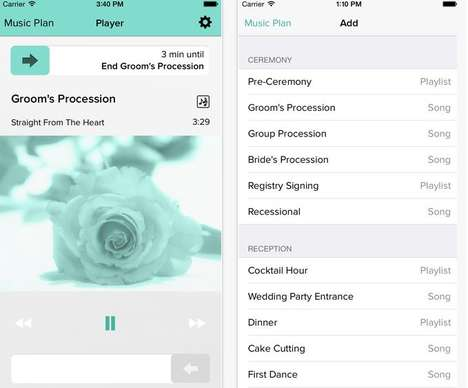 Wedding Playlist Apps - WeddingDJ is a Mobile Platform That Curates Music on One's Big Day