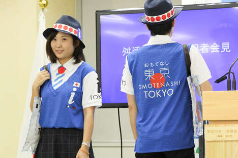 Multi-Lingual Guide Uniforms - These Volunteer Uniforms Will Be Sported for the 2020 Olympics