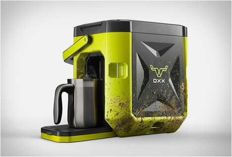 Heavy-Duty Coffee Makers - The 'Coffeeboxx' is a Single-Serve Machine Built for Tough Environments
