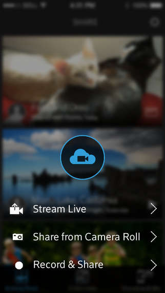 Branded Livestreaming Apps - Comcast's Xfinity Share Helps Create and Share Livestream Video Content