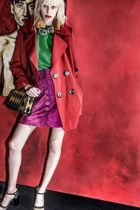Vibrant Vignette Collections - The Lanvin Resort Collection Offers Wild Pattern and Bold Brights