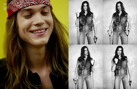 Candid Rocker Portraits - The Ones 2 Watch 'Flesh' Editorial Boasts Hippie-Inspired Menswear