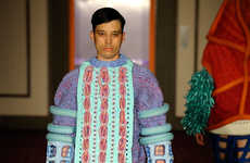 Whimsical Wool Runways - The Middlesex University Graduation Show Boasts Conceptual Knitwear