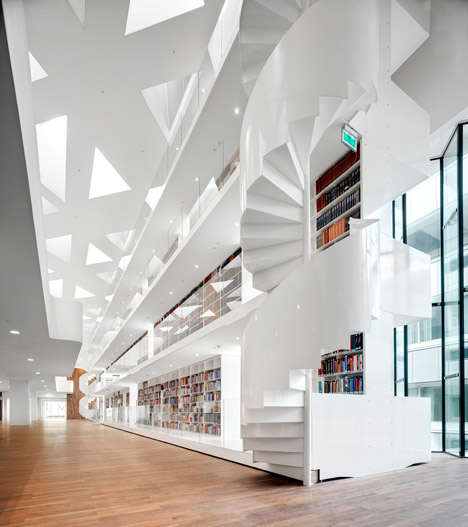 Hospital-Inspired Research Centers - This All-White Interior Architecture Reflects a Hospital