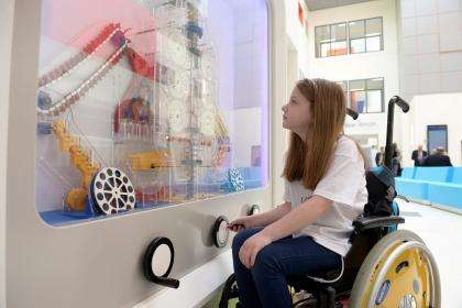 Interactive Hospital Walls - These Waiting Room Walls Now Entertain Hospitalized Children in the UK