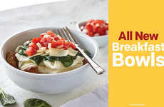 Kale-Infused Breakfasts - McDonald's Egg White and Turkey Sausage Breakfast Bowl Contains Kale