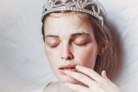 Self-Conscious Self-Portraits - Photographer Lulu Lovering Captures Emotionally Liberating Images