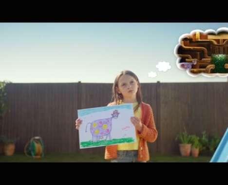 Offbeat Burger Commercials