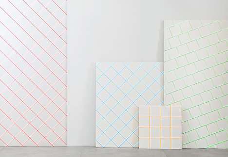Scale-Like Tiles - Alberto Sanchez Creates a Bright Alternative for HARMONY by Peronda
