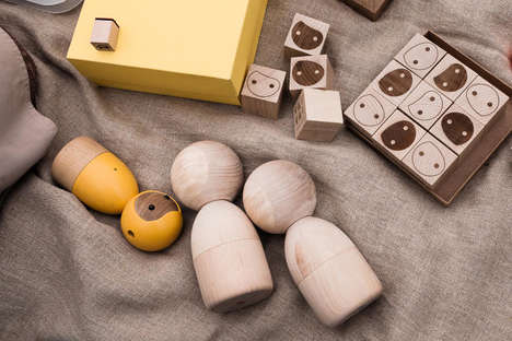 Smart Wooden Dolls - Avakai by Vai Kai Brings Technology and Traditional Toys Together