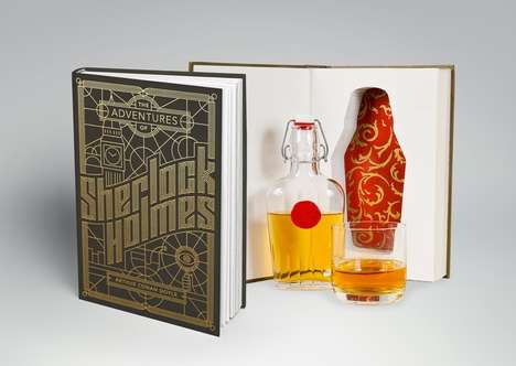 Detective-Inspired Booze Books - These Sherlock Holmes Booze Books Contain a Hidden Flask