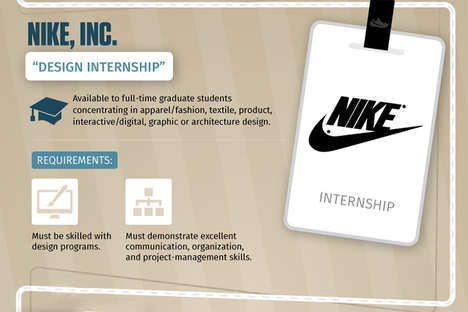 Summer Internship Infographics - CampusBooks Compares the Top Internships Across Various Industries