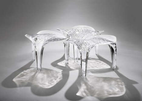 Ice Cube-Inspired Seats - These Ice-Inspired Chairs Mimic the Beauty of Frozen Water