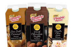 Dessert-Flavored Milks - 'Prairie Farms' Recently Released a New Line of Indulgent Milk Flavors