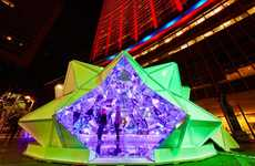 Origami Light Installations
