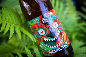 'Nomono' Uses a Dragon Beer Label to Represent its Brand