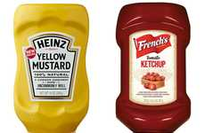 Competitive Condiment Ads - Heinz Aims to Dominate the Ketchup and Mustard Market