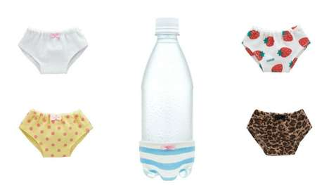 Water Bottle Undies - In Japan People are Able to Purchase Bottle Panties From Vending Machines