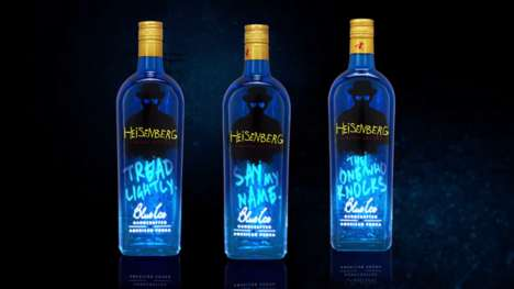Kingpin-Inspired Vodka - Heisenberg Blue Ice Vodka Reminds Fans Why They Love Breaking Bad