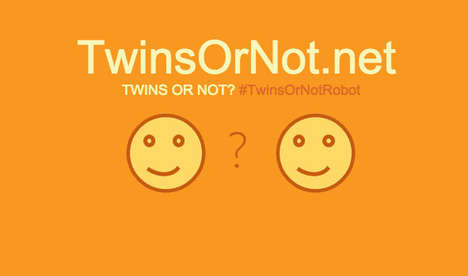 Twin-Determining Apps - Twins Or Not is the New Entertaining Facial Recognition App From Microsoft