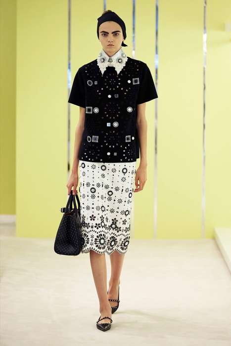 Folk Fashion Collections - The Latest Marc Jacobs Resort Collection References Rustic Themes