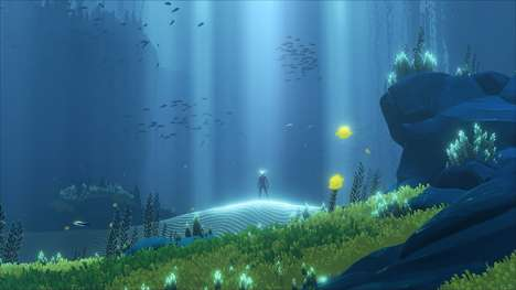 Immersive Scuba Diving Games - 'Abzû' is a New Underwater Adventure Game Based on Ocean Exploration