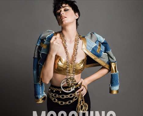Urban Glam Fashion Ads