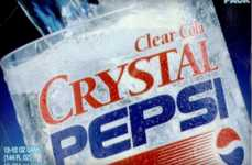 Clear Cola Drinks - Crystal Pepsi is Making a Comeback Over a Decade After First Introduced