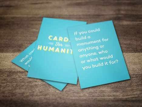Positive Party Games - Crowdfunding Campaign Cards For Wonderful People Highlights the Good