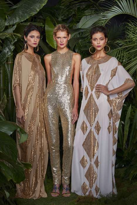 Exotic Travel-Inspired Collections - The Naeem Khan Resort Collection Offers International Style