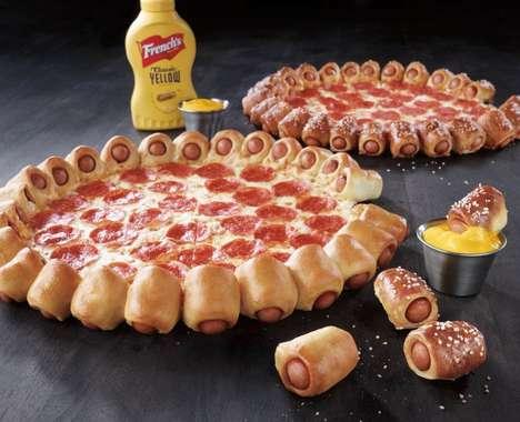 Hot Dog Pizza Crusts