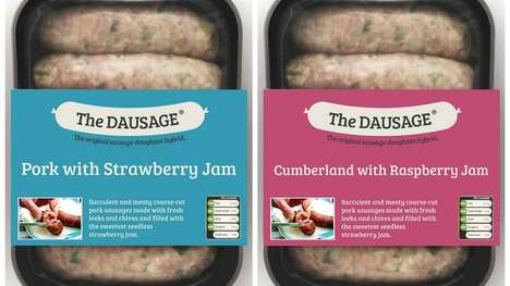 Donut-Inspired Sausages - The 'Dausage' is a Strange New Hybrid Pastry Made Out of Sausage