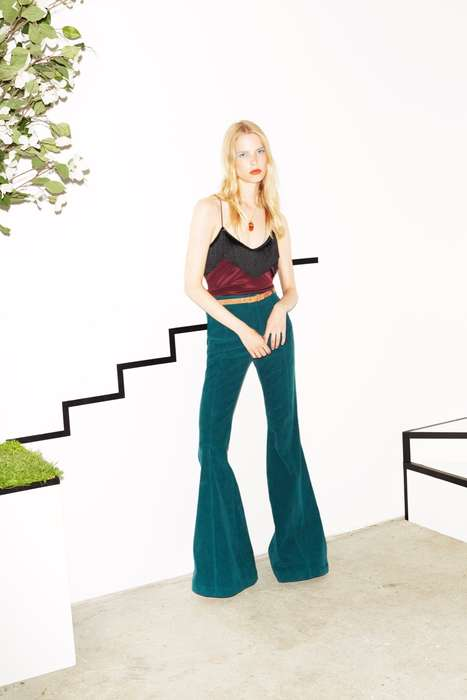 Celebrity-Inspired Resortwear - The Derek Lam 10 Crosby Resort Line Radiates Star Power