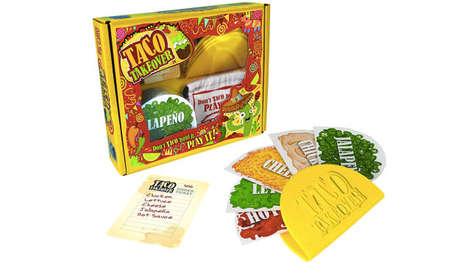 Taco-Inspired Card Games - 'Taco Takeover' is a Fun-Filled Competitive Taco Making Game