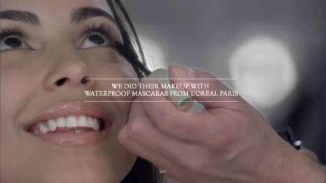 Cry-Proof Mascara Ads - L'Oreal Waterproof Mascara was Tested on a Theater of Crying Women