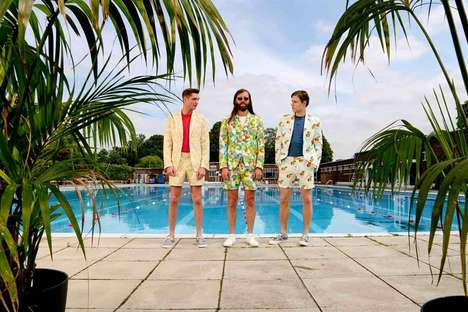 Cider-Promoting Suits - This Waterproof Suit was Designed to Promote 'Stella Artois Cidres'