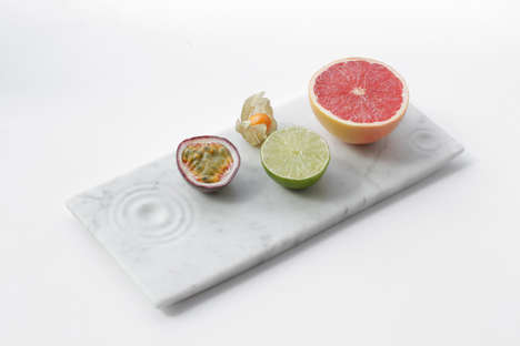 Versatile Marble Trays - This Elegant Marble Tray Acts as a Functional Decor Piece