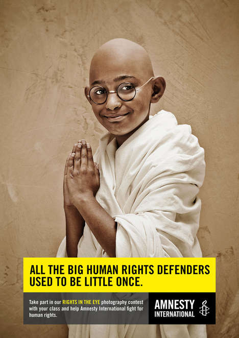 Child Humanist Campaigns - The Amnesty International Ad Shows Activism Can Start from Any Age