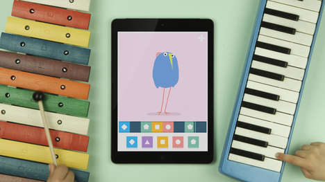 Music-Making Kids Apps - Loopimal Creates Charming Dancing Animals to Original Beats