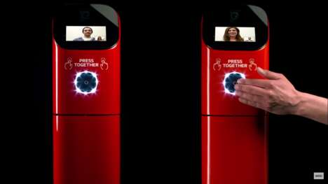 Coffee-Dispensing Crosswalks - This Nescafé Coffee Campaign Bring Strangers Together Via Technology