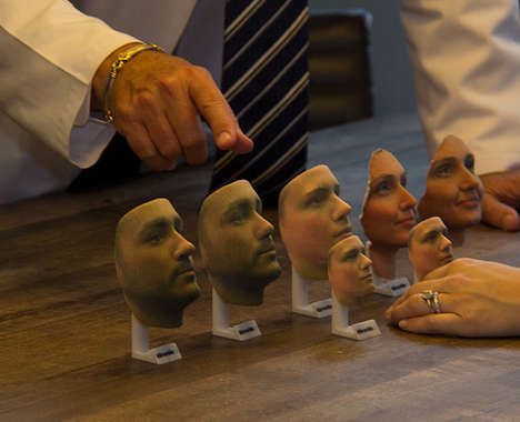 Replica 3D-Printed Faces