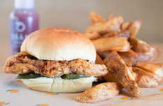 Spicy Buttermilk Chicken Sandwiches