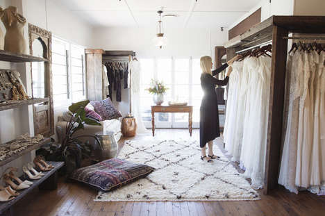 Counter-Culture Bridal Collections - This Studio Offers Outdoor Wedding Dresses and a Fresh Outlook